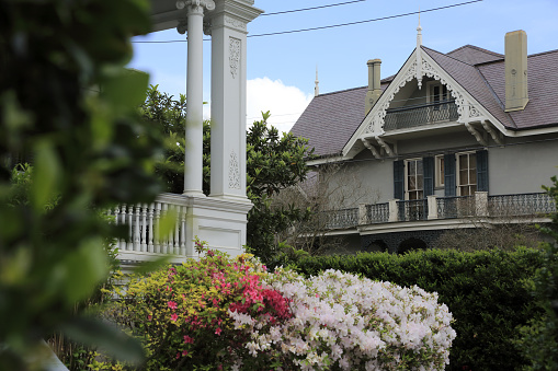 Focus On Background「Houses and gardens in Garden District」:スマホ壁紙(8)