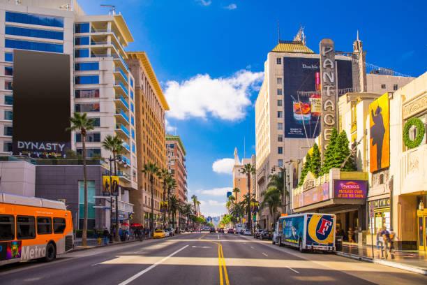 Sunset Boulevard - Hollywood in Los Angeles - USA:スマホ壁紙(壁紙.com)