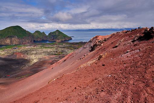 Volcano Islands「Eldfell Volcano, Heimaey, Westman Islands, Iceland」:スマホ壁紙(13)