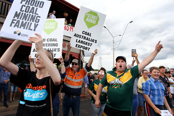 Queensland「Proposed Adani Thermal Coal Mine In Australia Faces Opposition Due ToEnvironmental Concerns」:写真・画像(13)[壁紙.com]