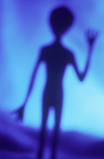 Visit「Alien waving」:スマホ壁紙(9)