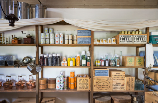 Supermarket「Antique general store, Fort Laramie」:スマホ壁紙(5)