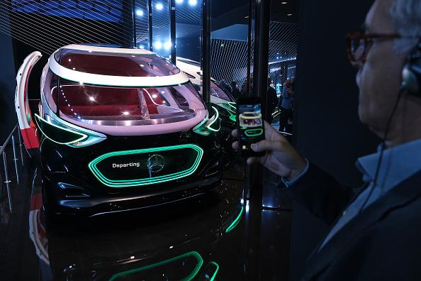 Mode of Transport「Mercedes-Benz Media Preview At IAA Frankfurt Auto Show」:写真・画像(9)[壁紙.com]