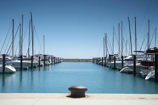 Pier「Boats at Harbor」:スマホ壁紙(7)