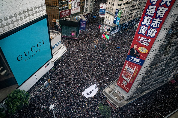 Street「Hong Kongers Protest Over China Extradition Law」:写真・画像(4)[壁紙.com]