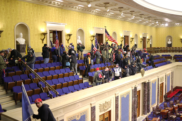 Capitol Hill「Congress Holds Joint Session To Ratify 2020 Presidential Election」:写真・画像(2)[壁紙.com]