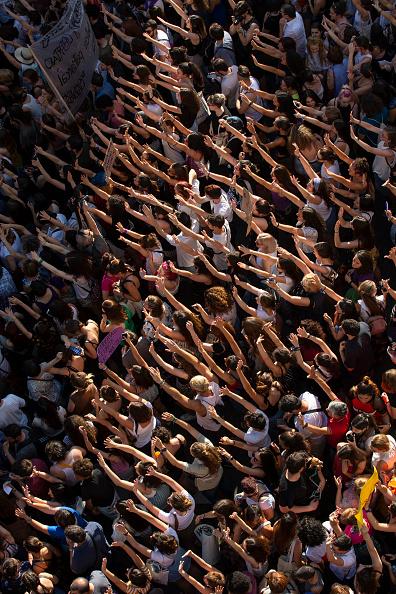 Pablo Blazquez Dominguez「Demonstration Against The Release On Bail Of San Fermin Festival's Rape Gang Members」:写真・画像(8)[壁紙.com]