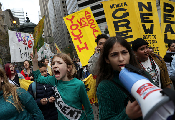 Climate Activist「Nationwide Youth Climate Strike Held As United Nations Holds Climate Conference」:写真・画像(4)[壁紙.com]