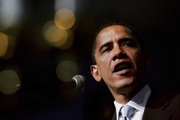Scott Olson「Obama Delivers MLK Address At Chicago Area Church」:写真・画像(3)[壁紙.com]