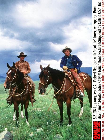 Horse「Robert Redford With Real Life Horse Whisperer Buck Brannaman Photo:」:写真・画像(9)[壁紙.com]