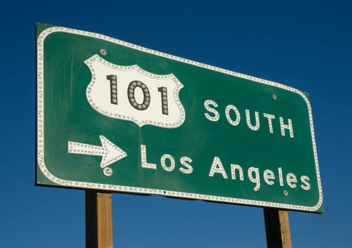 City Of Los Angeles「Los Angeles Freeway Sign」:スマホ壁紙(14)
