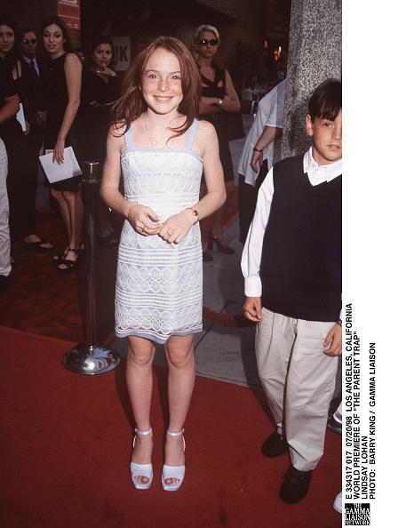 Ankle Strap Shoe「World Premiere Of The Parent Trap Lindsay Lohan Phot」:写真・画像(15)[壁紙.com]