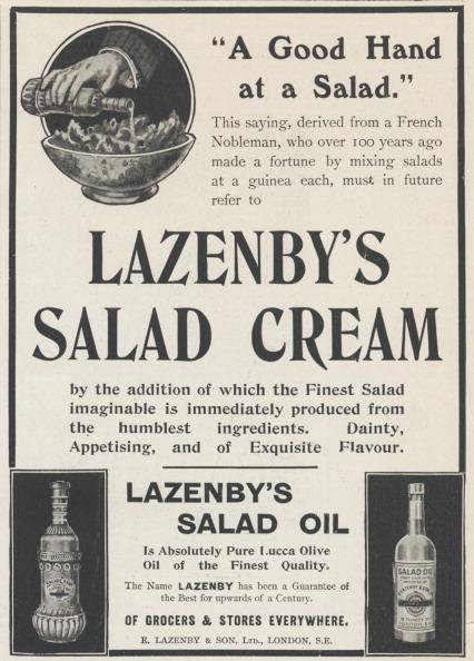 Salad「Lazenby's Salad Cream, 1906.」:写真・画像(5)[壁紙.com]