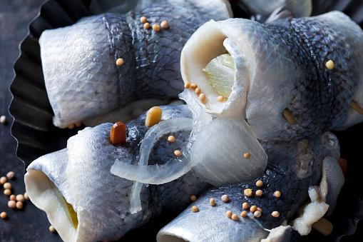 Tasting「Rollmop herrings, close-up」:スマホ壁紙(16)