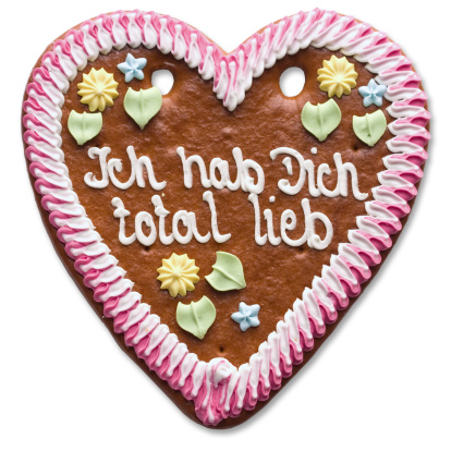 Gingerbread Cookie「Sweet Heart (with clipping path)」:スマホ壁紙(5)