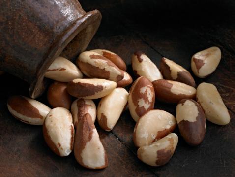 Nut - Food「Raw Brazil Nuts」:スマホ壁紙(13)