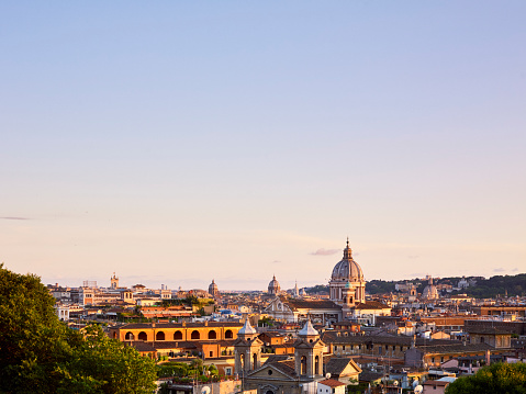 Cathedral「Rome skyline at sunset」:スマホ壁紙(5)