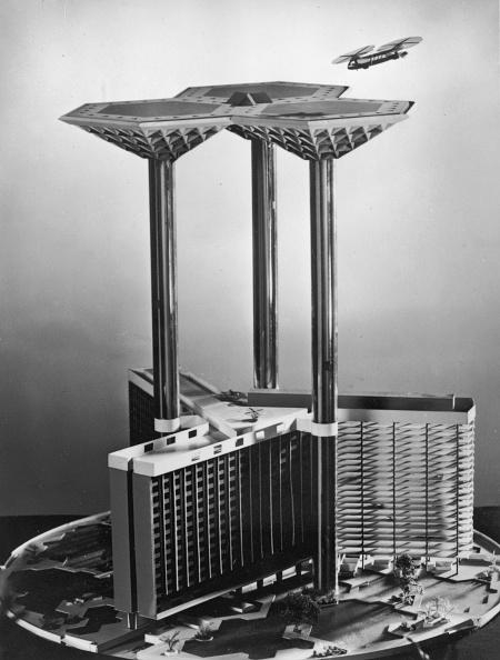 Futuristic「Skyport 2000」:写真・画像(10)[壁紙.com]