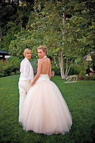 Wedding Dress「Ellen DeGeneres And Portia de Rossi Wedding」:写真・画像(19)[壁紙.com]