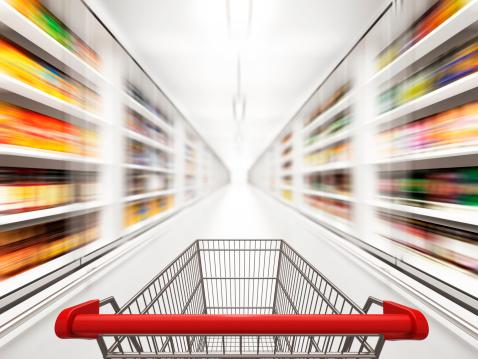 Blurred Motion「Fast Shopping」:スマホ壁紙(4)