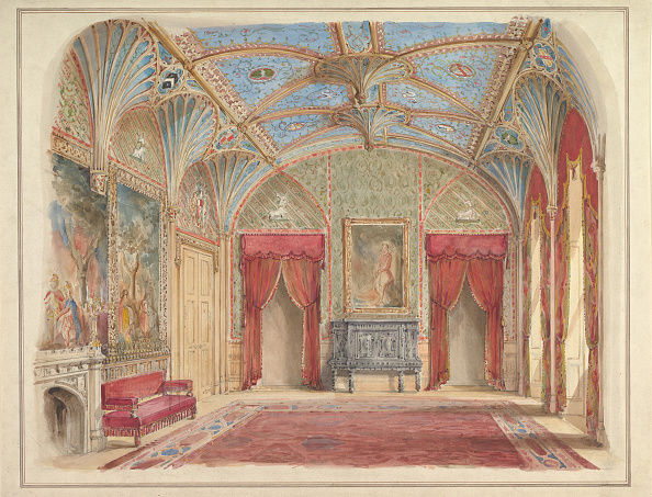 Model House「Design For The Decoration Of The Drawing Room At Eastnor Castle」:写真・画像(9)[壁紙.com]