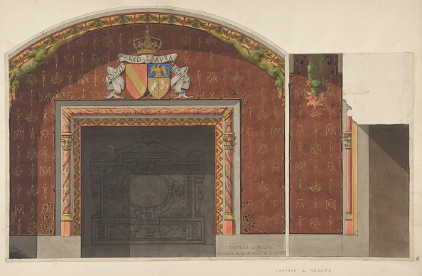 Patriotism「Design For The Decoration Of The Fireplace In The Library Of The Chateau De」:写真・画像(12)[壁紙.com]