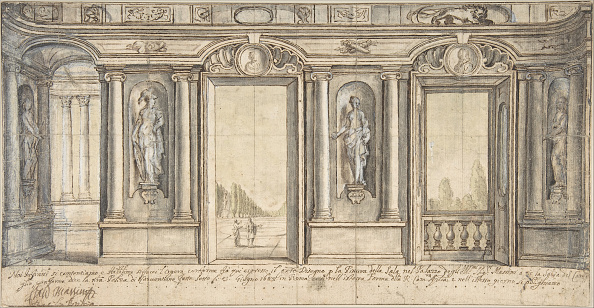 Model House「Design For A Painted Wall Decoration For Palazzo Massimo Allaracoeli (Rome)」:写真・画像(15)[壁紙.com]