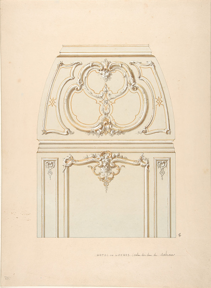 Bay of Water「Design For Rococo-Style Wall And Cove Ornament In The Salon Of The Hotel De」:写真・画像(11)[壁紙.com]