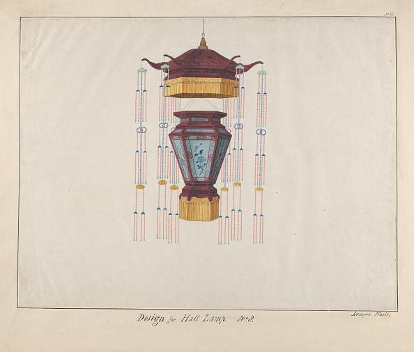 Model House「Design For A Hall Lamp」:写真・画像(12)[壁紙.com]