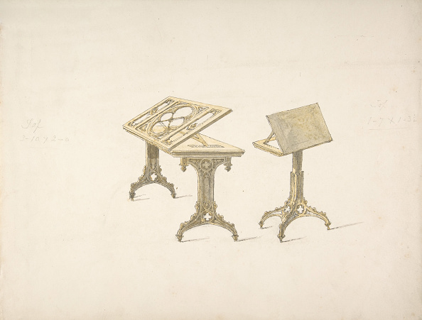 Furniture「Design For Two Bookstands On Casters」:写真・画像(8)[壁紙.com]