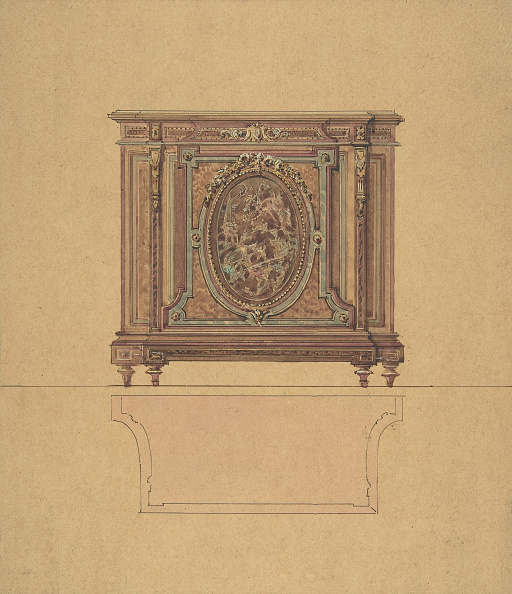 Furniture「Design For A Commode」:写真・画像(0)[壁紙.com]
