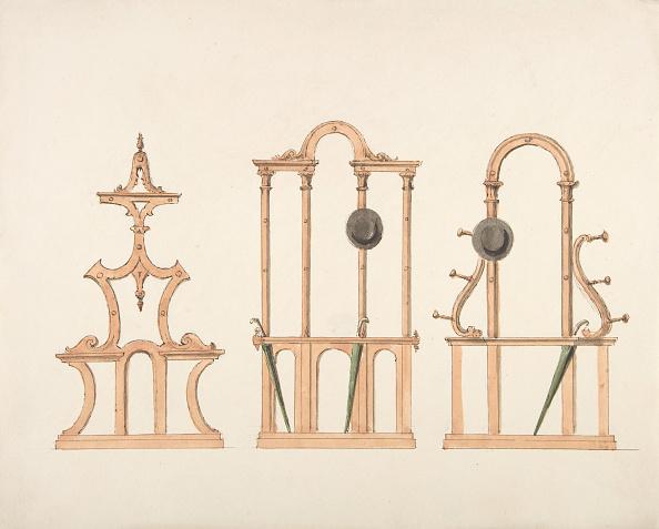 Furniture「Design For Three Hat And Umbrella Stands」:写真・画像(6)[壁紙.com]