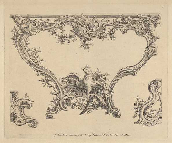 Etching「Design For A Console Table」:写真・画像(0)[壁紙.com]
