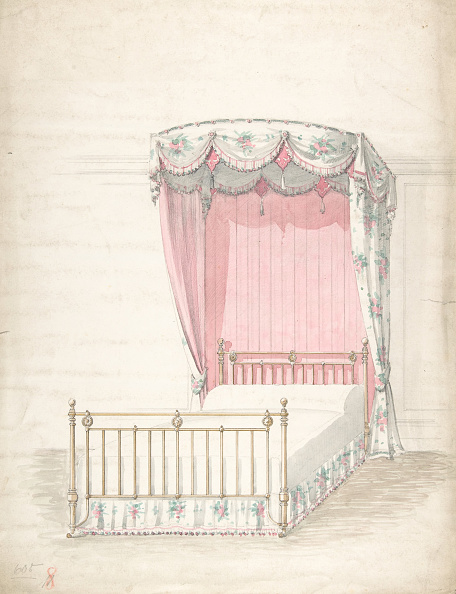 Model House「Design For A Bed And Canopy」:写真・画像(19)[壁紙.com]
