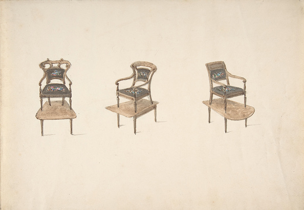 Furniture「Design For Three Small Elevated Armchairs」:写真・画像(7)[壁紙.com]