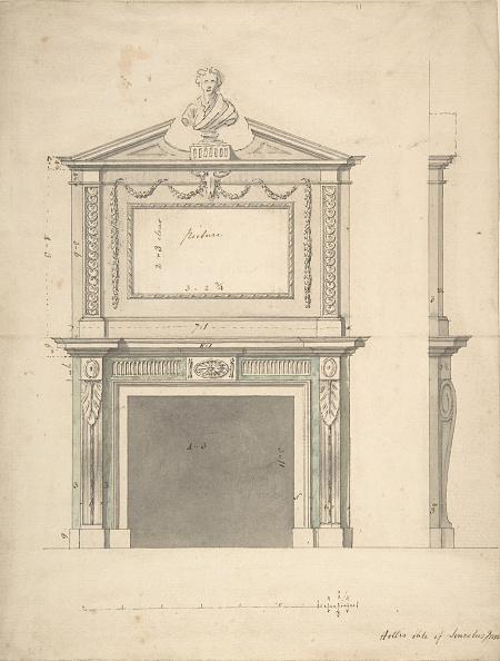 Model House「Design For A Chimney-Piece」:写真・画像(17)[壁紙.com]