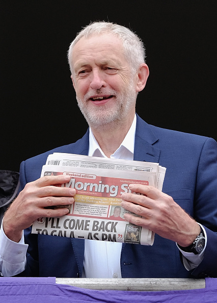 Express Newspapers「Jeremy Corbyn Attends The 132nd Durham Miner's Gala」:写真・画像(14)[壁紙.com]