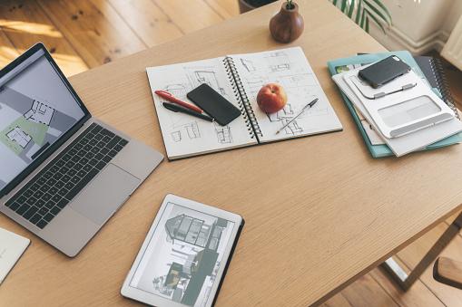 Adult「architects uwork desk」:スマホ壁紙(4)