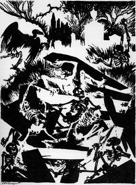 Horror「'The Premature Burial' by Edgar Allan Poe」:写真・画像(4)[壁紙.com]