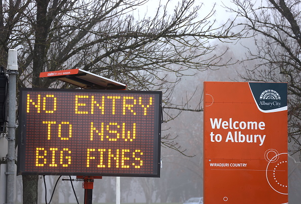 New South Wales「NSW And Victoria Prepare For Hard Border Closures To Come Into Effect To Stop COVID-19 Spread」:写真・画像(10)[壁紙.com]