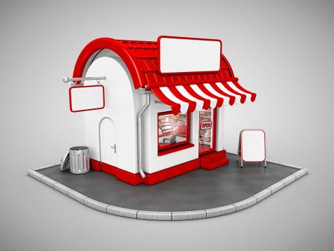 Market - Retail Space「store」:スマホ壁紙(13)