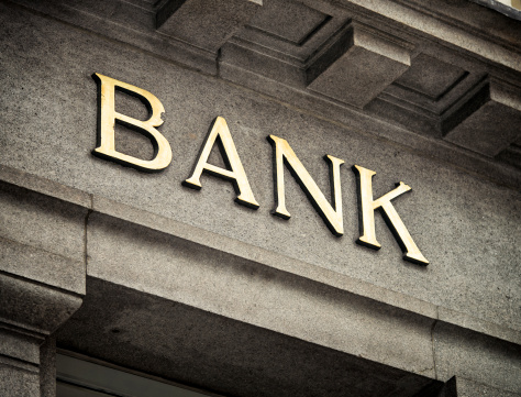 Banking「Old Fashioned Bank Sign」:スマホ壁紙(14)