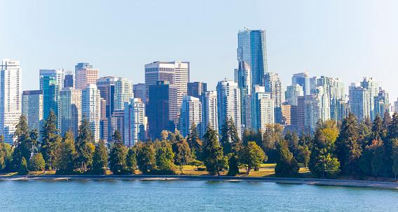 British Columbia「Canada, British Columbia, Vancouver, Sykline」:スマホ壁紙(5)