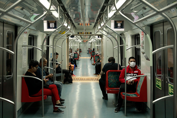Train - Vehicle「A Day in Sao Paulo as the City Begins to Shut Down」:写真・画像(0)[壁紙.com]