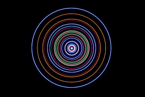 Spinning「Solar System Rendering」:スマホ壁紙(11)