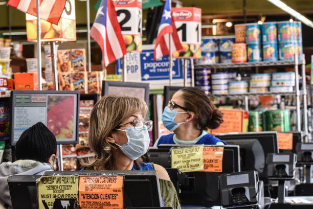 Coronavirus Pandemic Causes Climate Of Anxiety And Changing Routines In America:ニュース(壁紙.com)