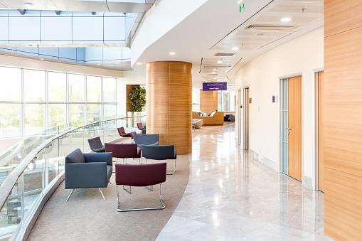 Waiting Room「Hospital Floor Interior」:スマホ壁紙(5)