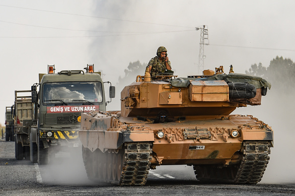 Turkey - Middle East「Fighting Continues In Syria Despite Ceasefire Announcement」:写真・画像(15)[壁紙.com]