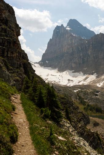 Yoho National Park「Trail with Mount Biddle」:スマホ壁紙(8)