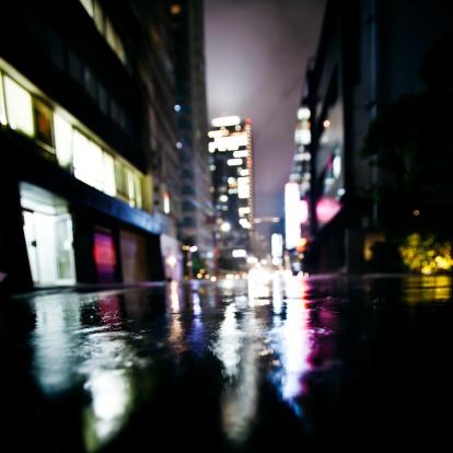 Alley「rainy night in big city」:スマホ壁紙(13)